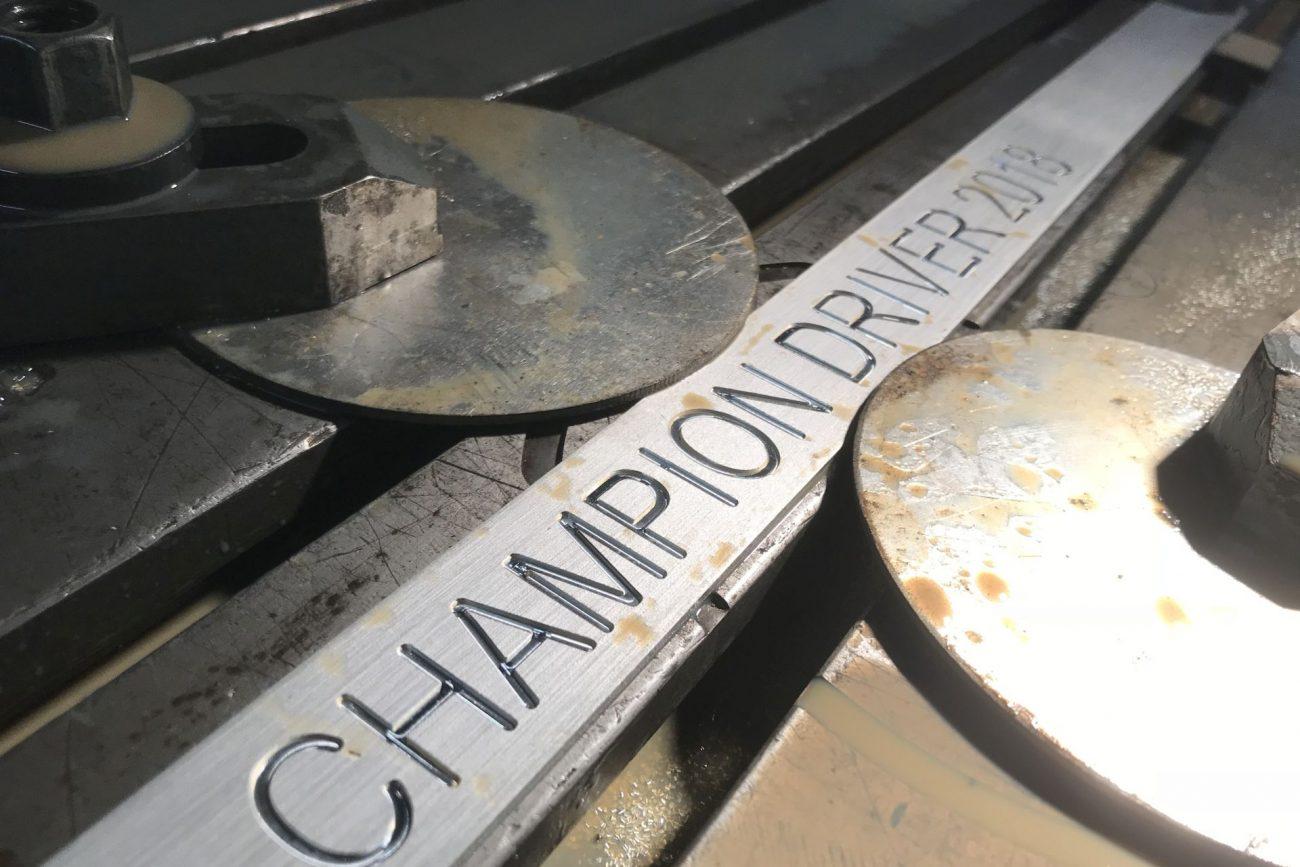 WTCR Championship trophy 2018 Klomp & Gijzen